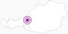 Unterkunft Gästehaus Hinterholzer im Pillerseetal: Position auf der Karte