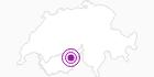 Unterkunft Beltour - Vermietungs-Service in Brig / Aletsch: Position auf der Karte