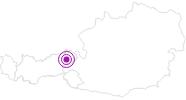 Unterkunft Haus Klein in der Ferienregion Hohe Salve: Position auf der Karte