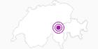 Unterkunft Hotel Rheinquelle in Disentis Sedrun: Position auf der Karte