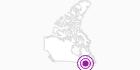 Unterkunft Hôtel Baie de Beauport in Québec City: Position auf der Karte