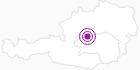 Unterkunft Berghaus Sonnalm in der Alpenregion Nationalpark Gesäuse: Position auf der Karte