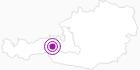 Unterkunft Pension Kristall in Nationalpark Hohe Tauern: Position auf der Karte