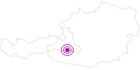 Unterkunft Villa Orania im Gasteinertal: Position auf der Karte
