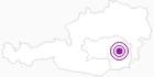 Unterkunft AlmenLandhof in der Oststeiermark: Position auf der Karte