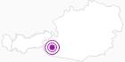 Unterkunft Alpengasthof Lucknerhaus in Osttirol: Position auf der Karte