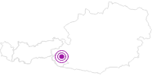 Unterkunft Gasthof Moaalm in Osttirol: Position auf der Karte