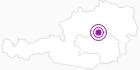 Unterkunft Arge Ski-Region-Hotels in der Alpenregion Nationalpark Gesäuse: Position auf der Karte