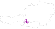 Webcam Skigebiet Ankogel: Tal in Hohe Tauern - die Nationalpark-Region in Kärnten: Position auf der Karte