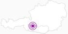 Unterkunft Gasthof Alpenrose in Hohe Tauern - die Nationalpark-Region in Kärnten: Position auf der Karte