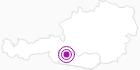 Unterkunft Appartements 3 Gemsen in Hohe Tauern - die Nationalpark-Region in Kärnten: Position auf der Karte