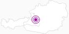 """Unterkunft Fewo """"Kopfberg"""" in Tennengau-Dachstein West: Position auf der Karte"""