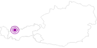 Unterkunft Gasthof Wetterspitze in der Tiroler Zugspitz Arena: Position auf der Karte