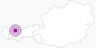 Unterkunft Gästehaus Branders in der Tiroler Zugspitz Arena: Position auf der Karte