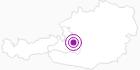 Unterkunft Pension Rabenbichl in der Salzburger Sportwelt: Position auf der Karte