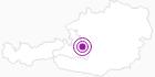 Unterkunft Alpengasthof Zeferer in der Salzburger Sportwelt: Position auf der Karte