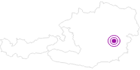 Unterkunft Appartement Rettenegg in der Salzburger Sportwelt: Position auf der Karte