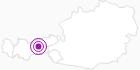 Unterkunft Pension Erlerhof in der Region Hall - Wattens: Position auf der Karte