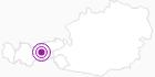 Unterkunft Haus Gunsch in der Region Hall - Wattens: Position auf der Karte