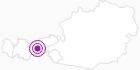 Unterkunft Glungezerhütte in der Region Hall - Wattens: Position auf der Karte