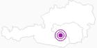 Unterkunft Pension Paulitsch in der Urlaubsregion Murtal: Position auf der Karte