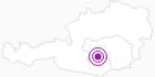 Unterkunft Köhlerhütte in der Urlaubsregion Murtal: Position auf der Karte
