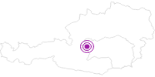 Unterkunft Siedlerhof in Schladming-Dachstein: Position auf der Karte