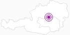 Unterkunft Fewo Hochkarblick in der Alpenregion Nationalpark Gesäuse: Position auf der Karte