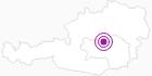 Unterkunft Berggasthof Lödl in der Alpenregion Nationalpark Gesäuse: Position auf der Karte