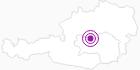 Unterkunft Gästehaus Gruber in der Alpenregion Nationalpark Gesäuse: Position auf der Karte