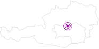 Unterkunft Kronsteiner Hilde in der Alpenregion Nationalpark Gesäuse: Position auf der Karte