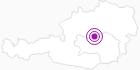 Unterkunft Maunz Sigrid in der Alpenregion Nationalpark Gesäuse: Position auf der Karte