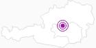 Unterkunft Bauernhof Peer Alfred in der Alpenregion Nationalpark Gesäuse: Position auf der Karte