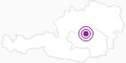 Unterkunft Bauernhof Familie Winter in der Alpenregion Nationalpark Gesäuse: Position auf der Karte