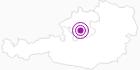 Unterkunft Forellenhof-Wieselmuehle im Salzkammergut: Position auf der Karte