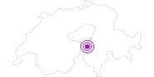 Unterkunft Hotel Garni Egg in Uri: Position auf der Karte