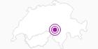 Unterkunft Kajüttenlodge Zum Dörfli in Martigny - Les 4 Vallées: Position auf der Karte