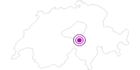 Unterkunft Gasthaus Siesta in Uri: Position auf der Karte