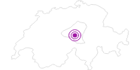 Unterkunft Spannorthütte SAC in Obwalden: Position auf der Karte