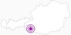 Unterkunft Alpengasthof BIDNER in Osttirol: Position auf der Karte