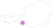 Accommodation Hedwig KLEINLERCHER in East Tyrol: Position on map