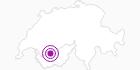 Unterkunft Chalet des Eclaireurs in Sion: Position auf der Karte