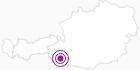 Unterkunft SPITZKOFELHAUS - Fam. Bachmann in Osttirol: Position auf der Karte
