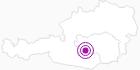 Unterkunft Ernst Wedam in der Urlaubsregion Murtal: Position auf der Karte