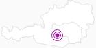 Unterkunft Ferienhaus am Kreischberg in der Urlaubsregion Murtal: Position auf der Karte