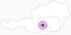 Unterkunft Gästehaus Leitner in der Urlaubsregion Murtal: Position auf der Karte
