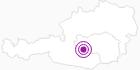 Unterkunft Fewo Christine Hansmann in der Urlaubsregion Murtal: Position auf der Karte