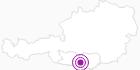 Unterkunft Mountain Resort Feuerberg in Hohe Tauern - die Nationalpark-Region in Kärnten: Position auf der Karte