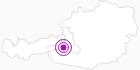 Unterkunft Gasthof Alpenrose in Nationalpark Hohe Tauern: Position auf der Karte