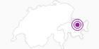Unterkunft Fewo Landwasser Nr. 10 in Davos Klosters: Position auf der Karte